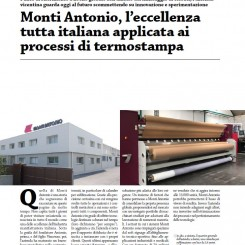 MONTI ANTONIO, THE ALL-ITALIAN EXCELLENCE APPLIED TO HEAT TRANSFER PRINTING PROCESSES