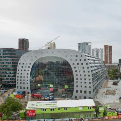 COMPANY TS VISUAL: metal printing for the decoration of the MARKTHAL-ROTTERDAM